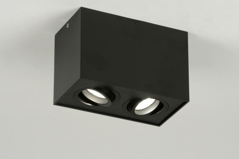 Spot 71787: design, moderne, acier, noir #0