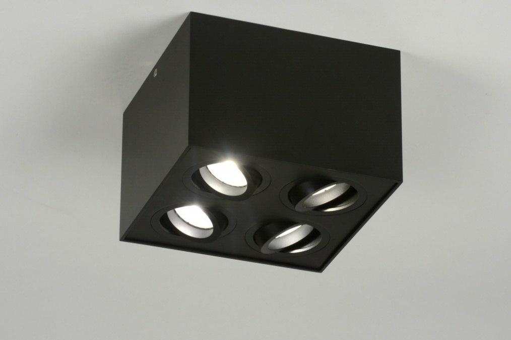 Spot 71788: modern, aluminium, metaal, zwart #0