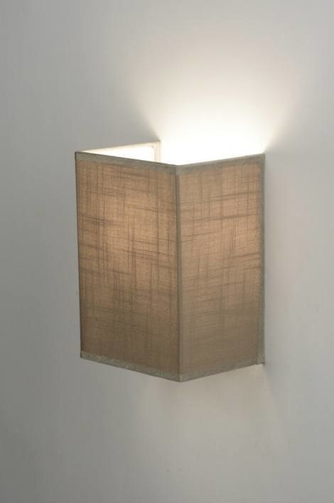 Wall lamp 71805: rustic, modern, contemporary classical, fabric #0