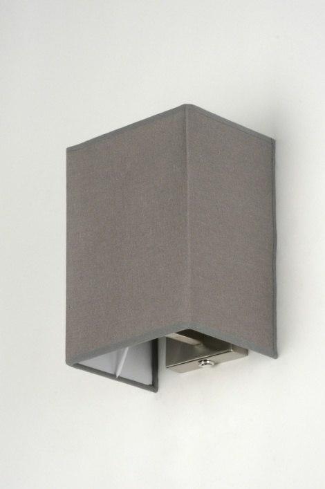 applique murale 71816 moderne classique contemporain rural rustique gris. Black Bedroom Furniture Sets. Home Design Ideas