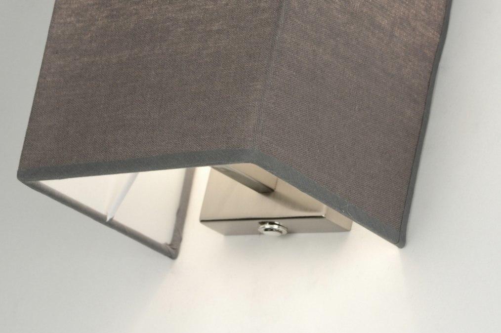Wandlamp 71816 modern eigentijds klassiek landelijk rustiek grijs - Eigentijds huis grijs ...