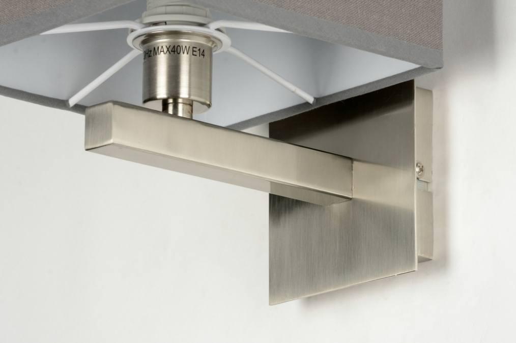 Wandlamp 71817 modern eigentijds klassiek landelijk rustiek grijs - Eigentijds huis grijs ...