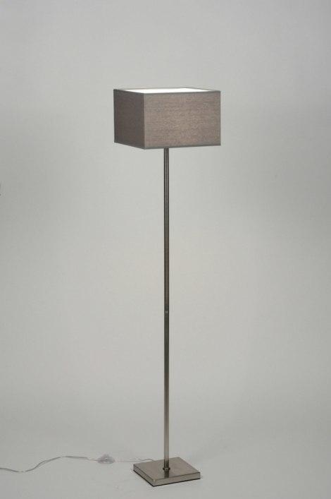 Vloerlamp 71818: sale, modern, eigentijds klassiek, staal rvs #0