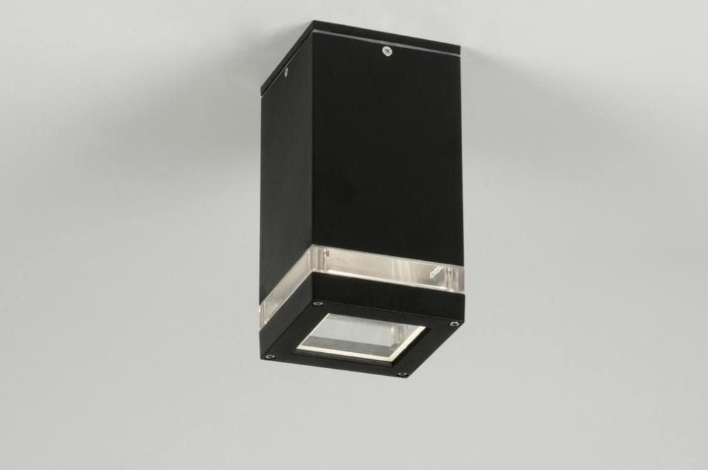 Plafondlamp 71911: sale, modern, design, zwart #0