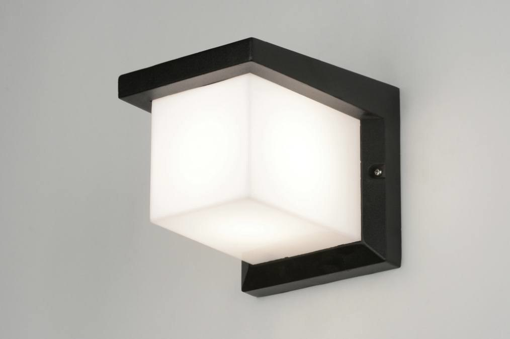 Wandlamp 71915: modern, aluminium, kunststof, polycarbonaat slagvast #0