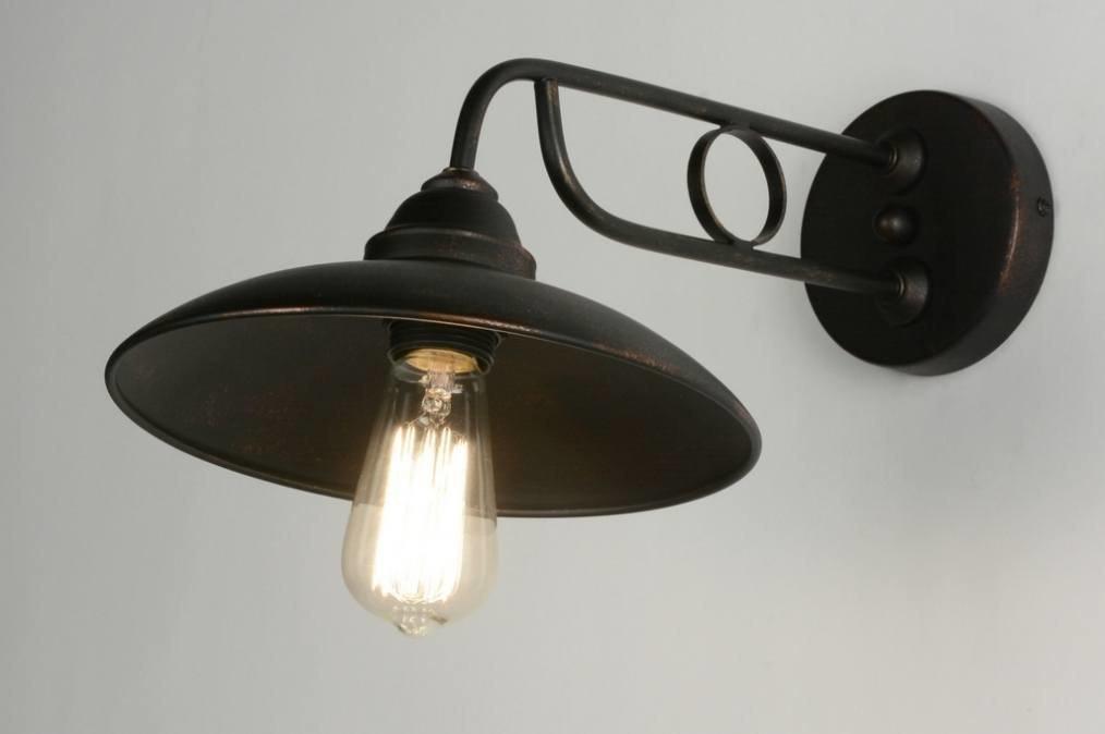 Wandlamp 71945: landelijk, rustiek, retro, klassiek #0