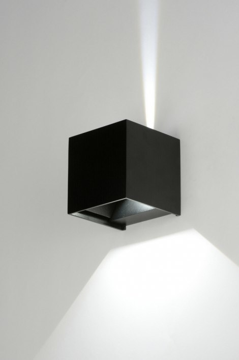 Wandlamp 71976: design, modern, aluminium, metaal #0