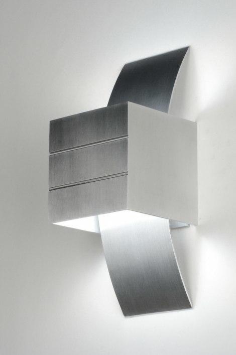 Wandlamp 71979: modern, design, aluminium, aluminium #0