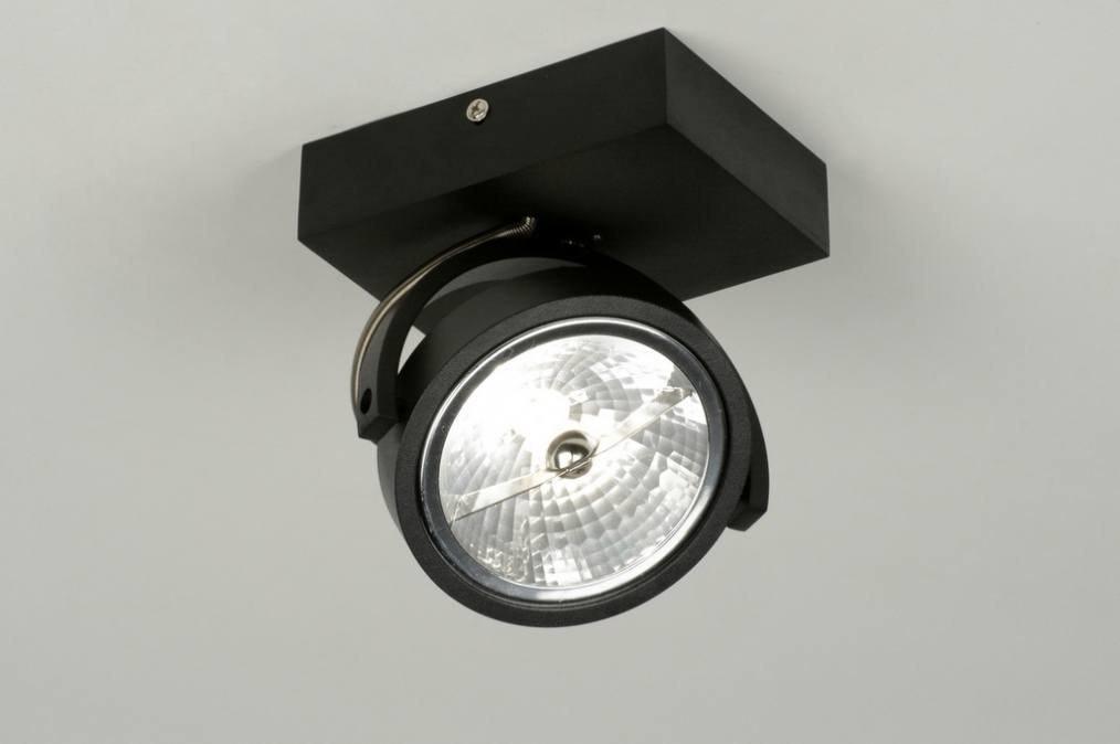 Plafondlamp 72035: modern, design, industrie, look #0