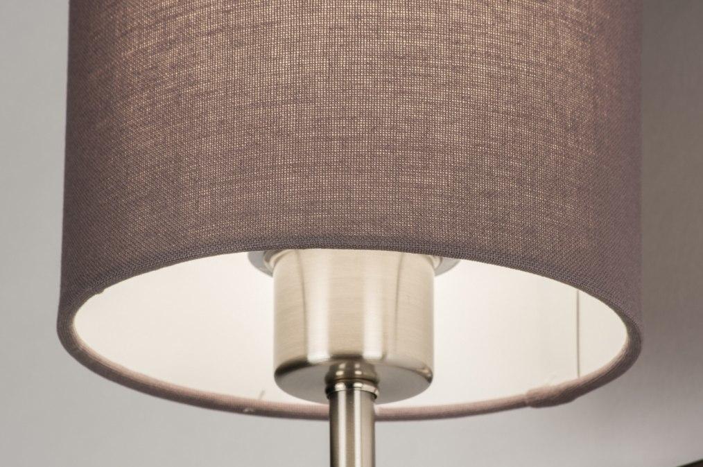 Wandlamp 72048 modern eigentijds klassiek grijs stof - Eigentijds huis grijs ...