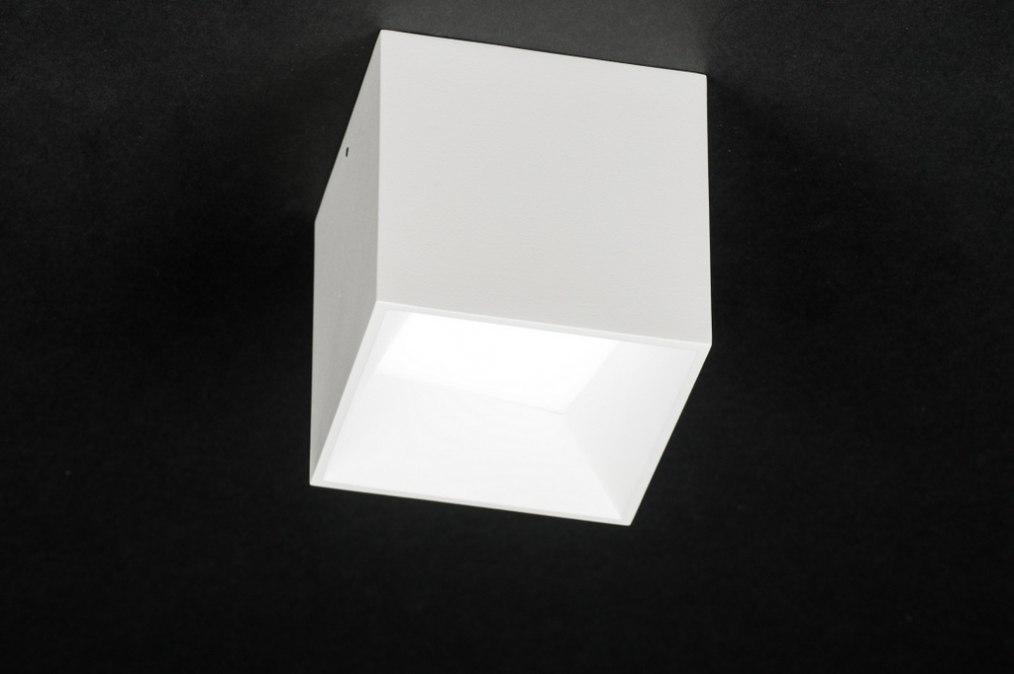 Plafondlamp 72065: design, modern, aluminium, kunststof #0