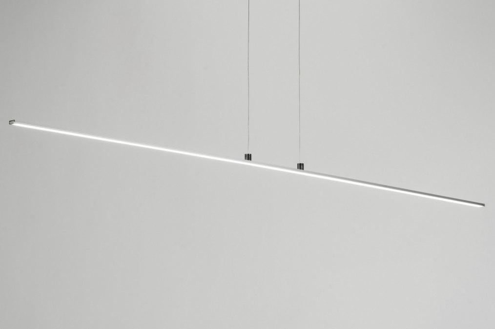 Hanglamp 72106: design, modern, aluminium, kunststof #0