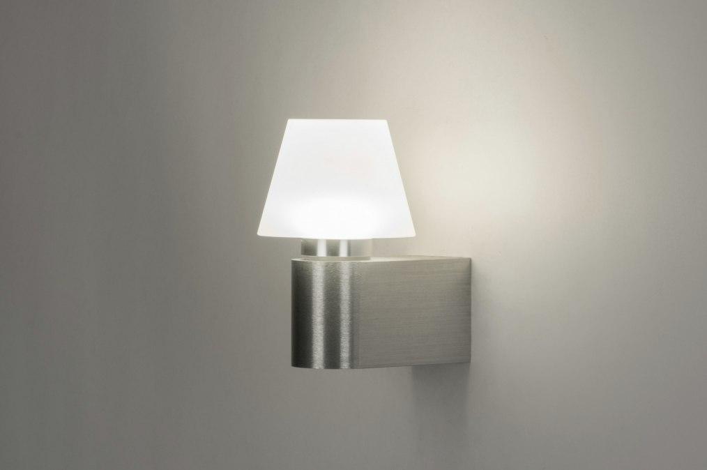 applique murale 72153 moderne design blanc aluminium. Black Bedroom Furniture Sets. Home Design Ideas
