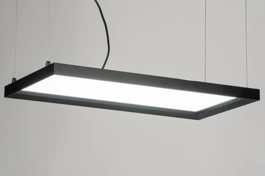 Hanglamp 72155: sale, modern, zwart, mat #0