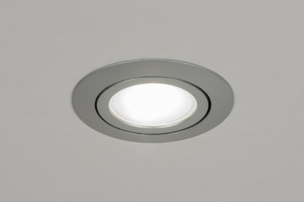 Inbouwspot 72211: design, modern, aluminium, metaal #0