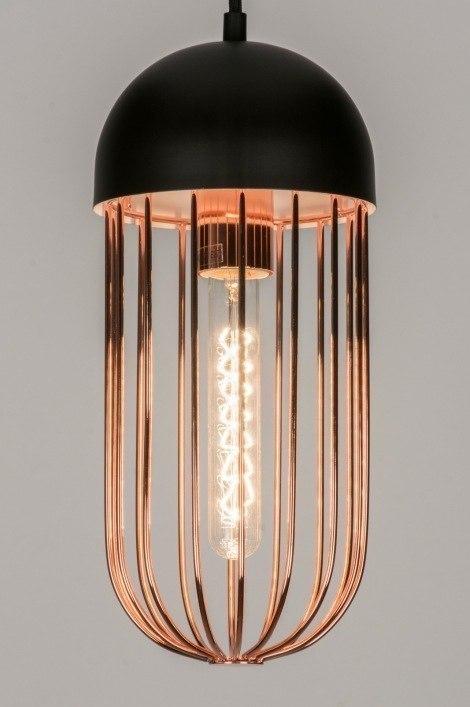 Hanglamp 72231: landelijk, rustiek, modern, metaal #0