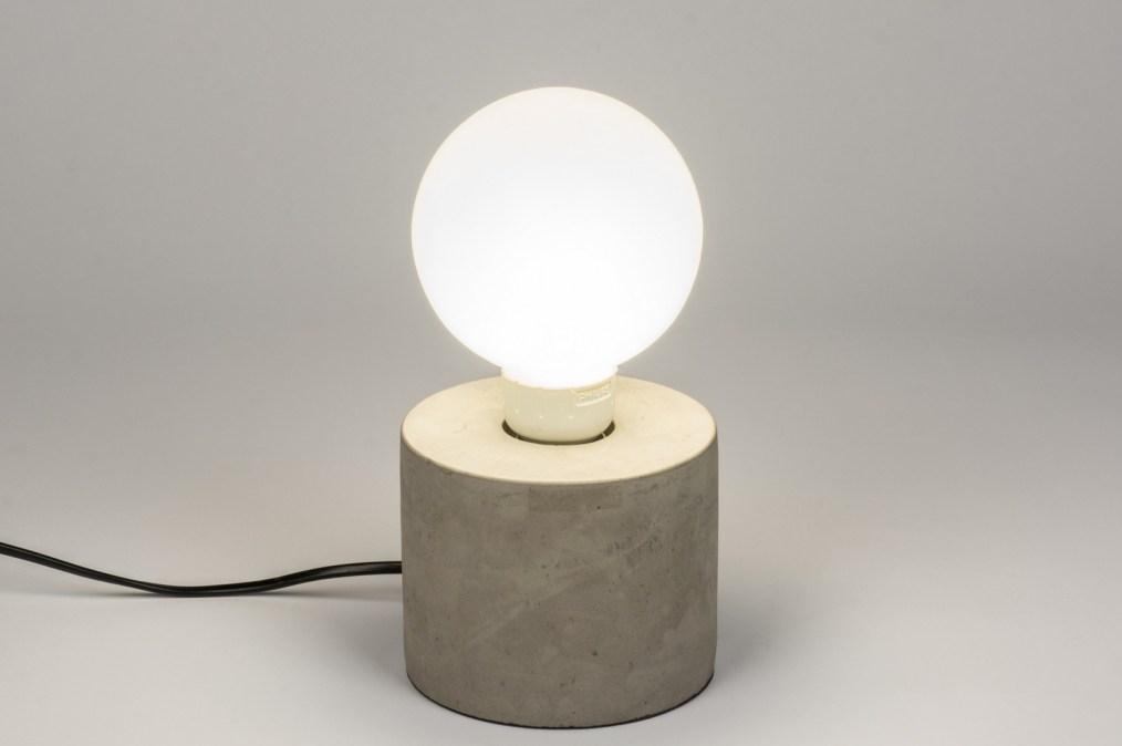Tafellamp 72239: modern landelijk rustiek industrie
