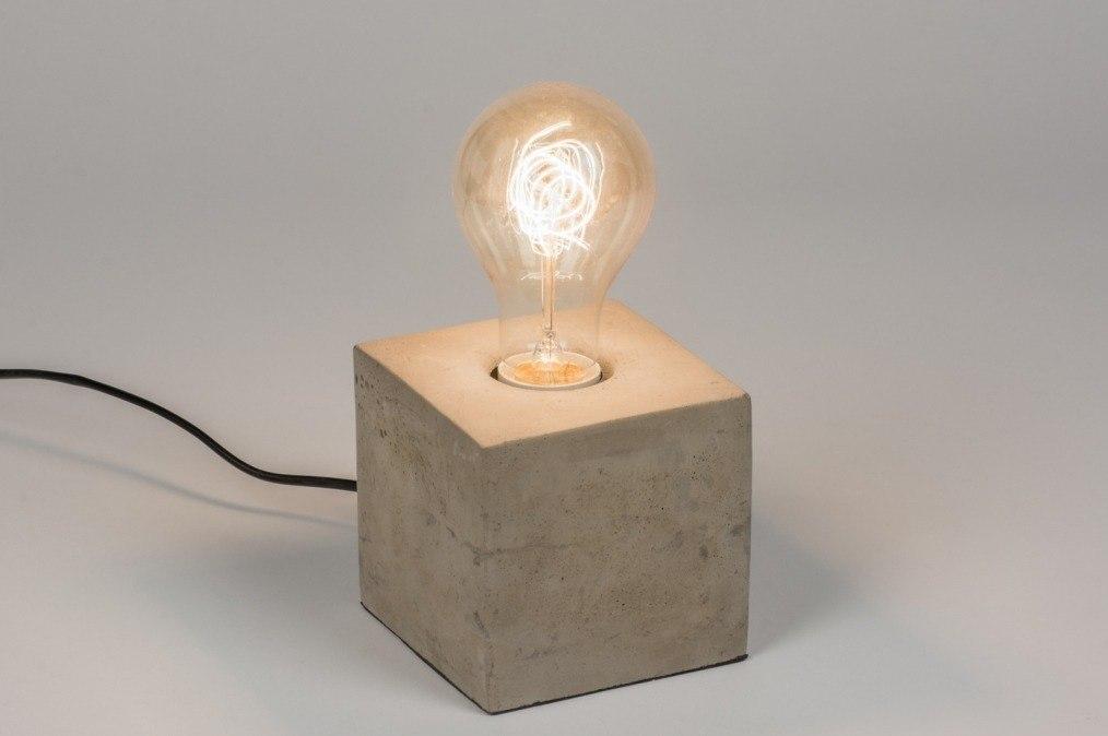 Tafellamp 72240: industrie, look, landelijk, rustiek #0