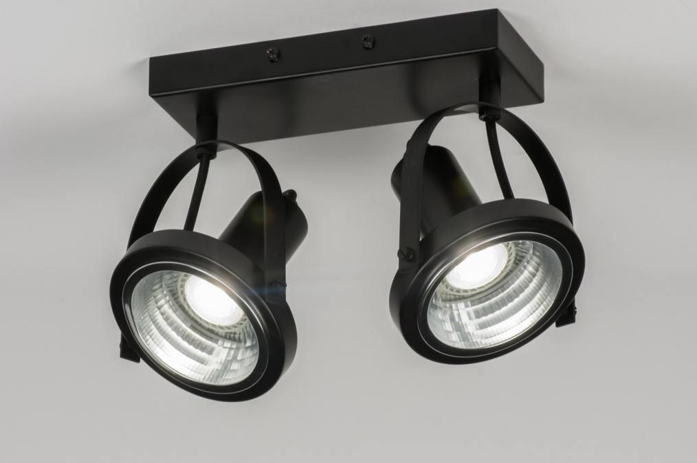 Spotlight 72249: industrial look, modern, metal, black #0