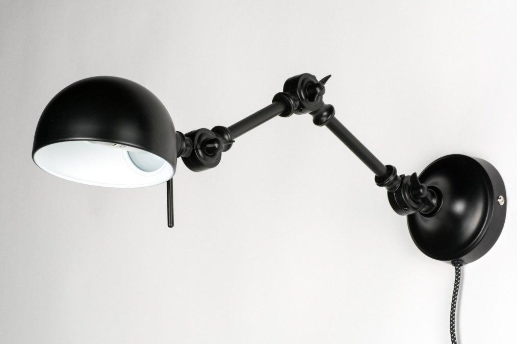 wandlamp 72273 eigentijds klassiek landelijk rustiek retro industrie. Black Bedroom Furniture Sets. Home Design Ideas