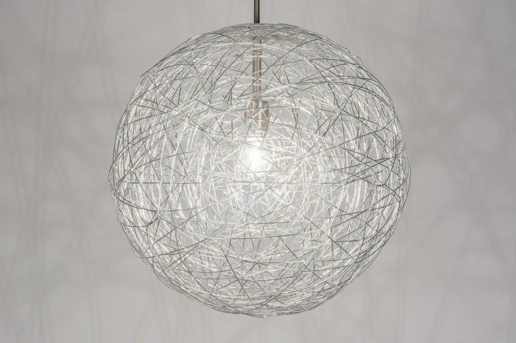 Hanglamp 72275: sale, modern, aluminium, aluminium #0