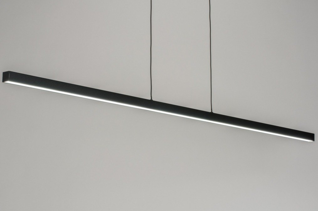 Pendant light 72284: industrial look, modern, metal, black #0