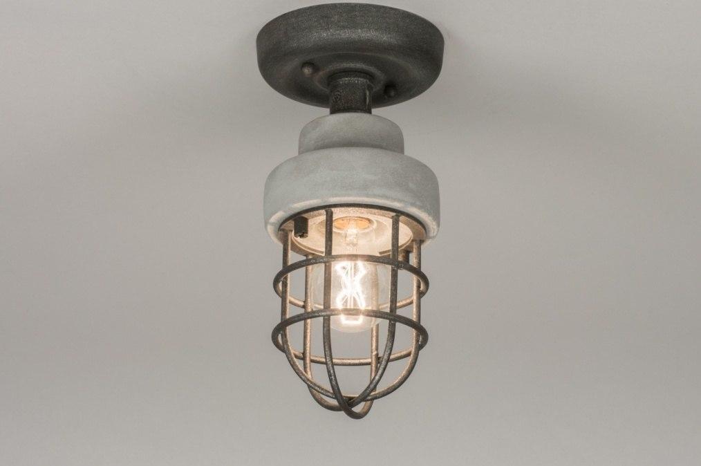 Plafondlamp 72377: sale, industrie, look, landelijk #0