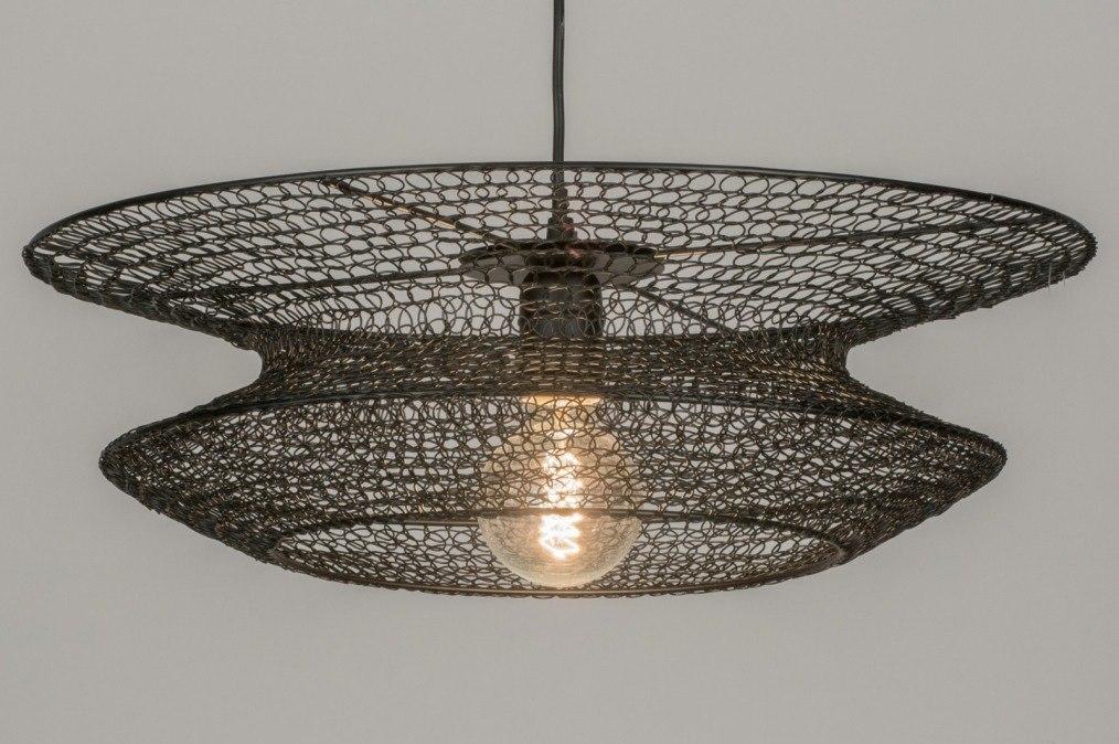 Hanglamp 72387: landelijk, rustiek, modern, metaal #0