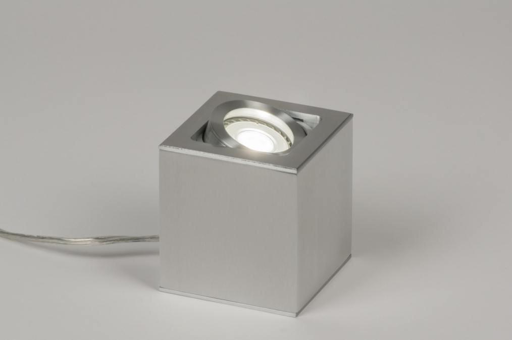 Table lamp 72397: designer, modern, aluminium, aluminum #0