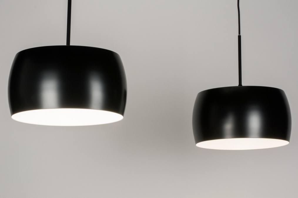 Hanglamp 72399: design modern retro aluminium