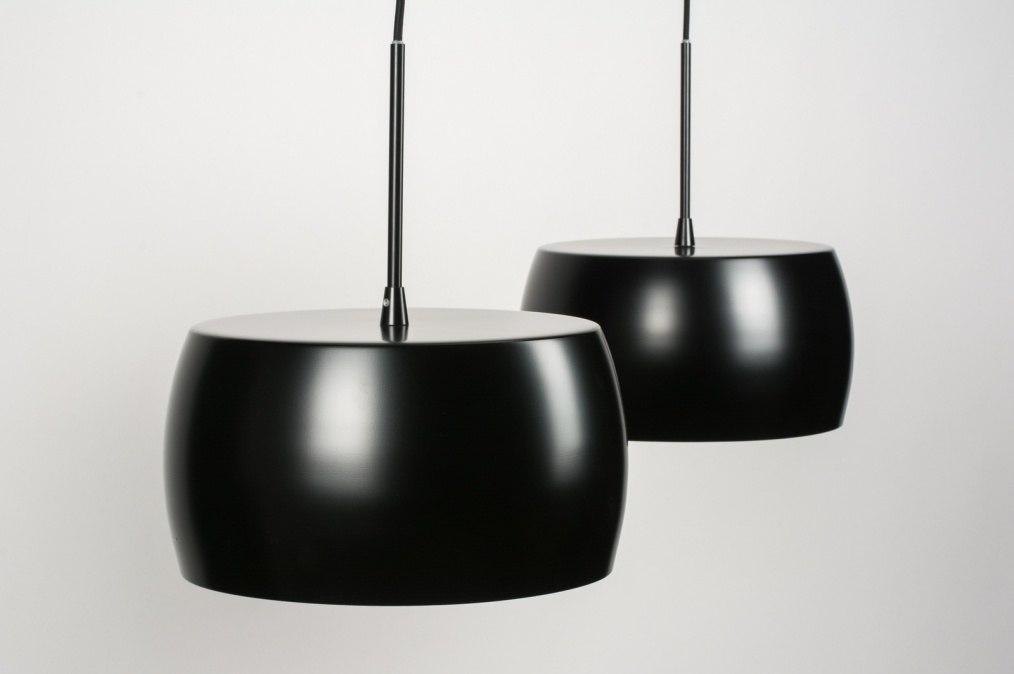 pendelleuchte 72399 modern design retro schwarz. Black Bedroom Furniture Sets. Home Design Ideas
