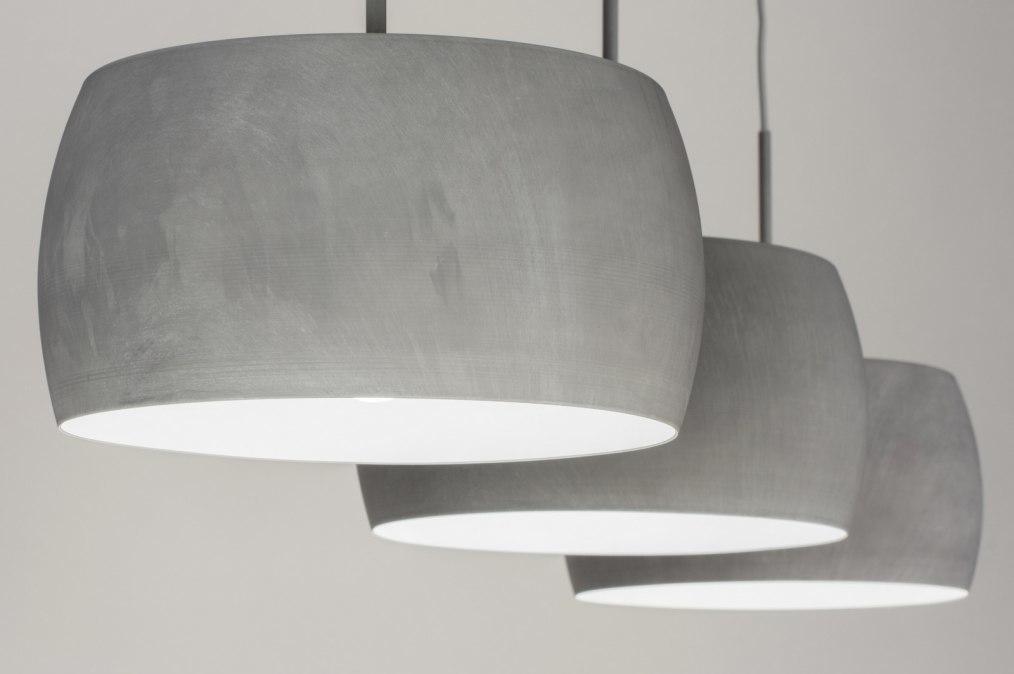 Hanglamp 72402: landelijk, rustiek, modern, aluminium #0