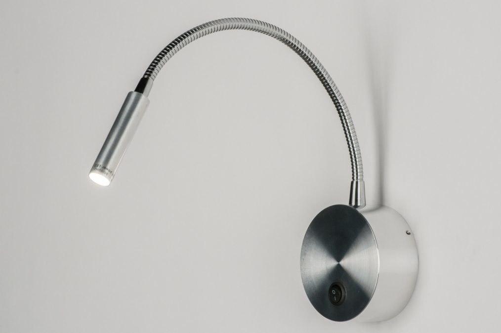 Wandlamp 72407: modern, aluminium, metaal, aluminium #0