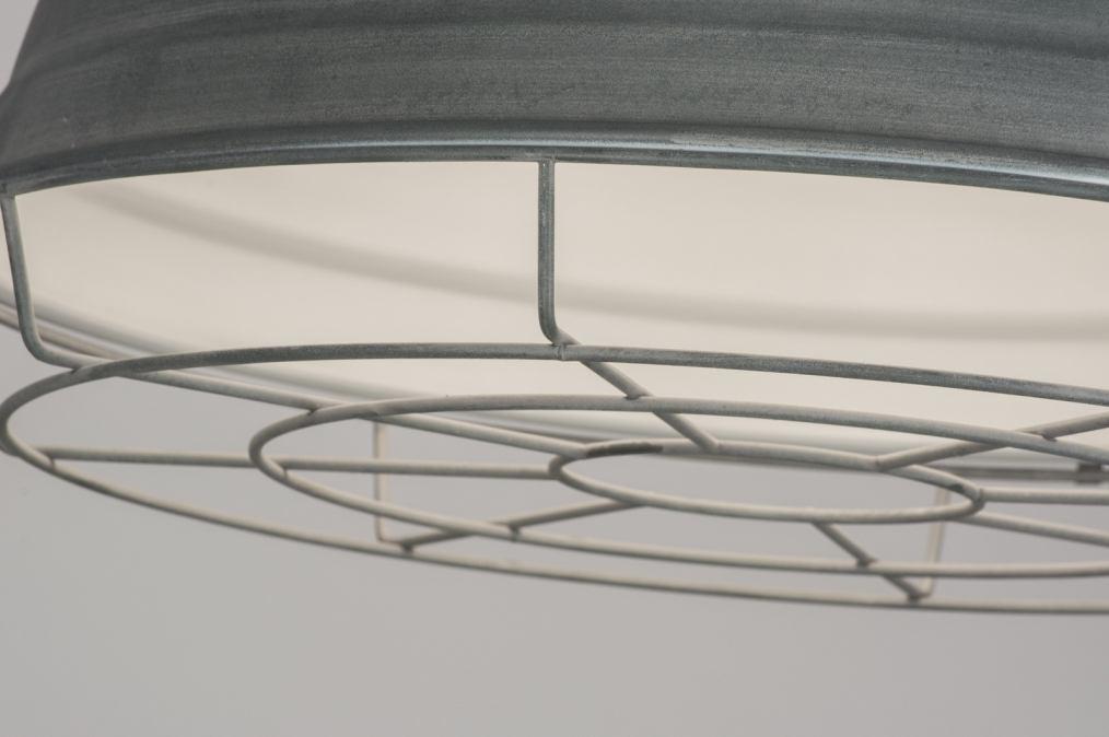 Pendant Lamp 72413 Modern Industrial Look Concrete Gray