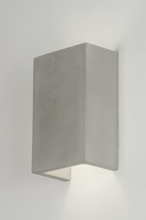 Wall lamp 72424: industrial look, rustic, modern, concrete #0
