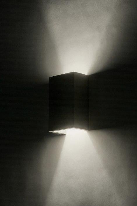 wandlamp 72424 modern landelijk rustiek industrie. Black Bedroom Furniture Sets. Home Design Ideas
