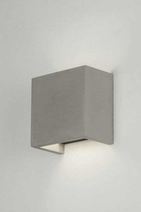 Wall lamp 72426: industrial look, rustic, modern, concrete #0