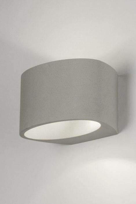 Wall lamp 72427: industrial look, rustic, modern, concrete #0