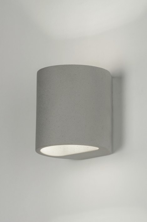 Wall lamp 72431: industrial look, rustic, modern, concrete #0
