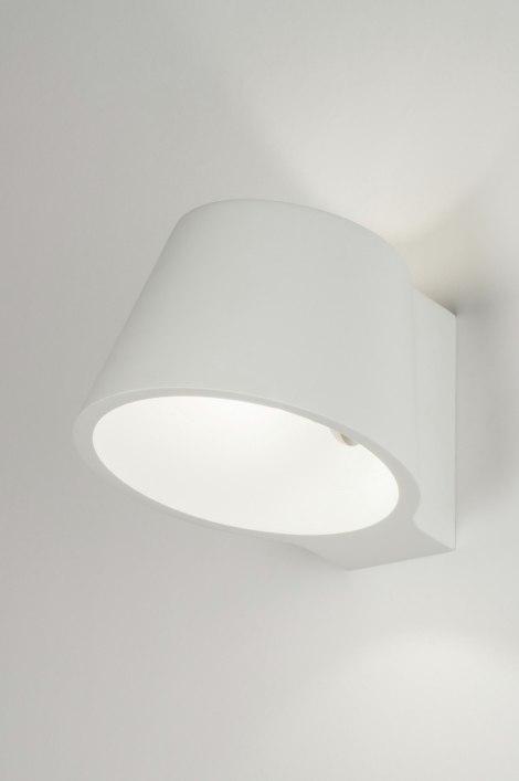 Wandlamp 72433: landelijk, rustiek, modern, keramiek #0