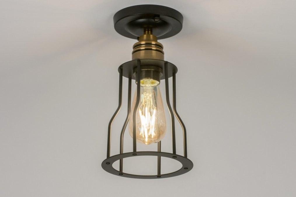 Plafondlamp 72469: modern, eigentijds klassiek, landelijk, rustiek #0