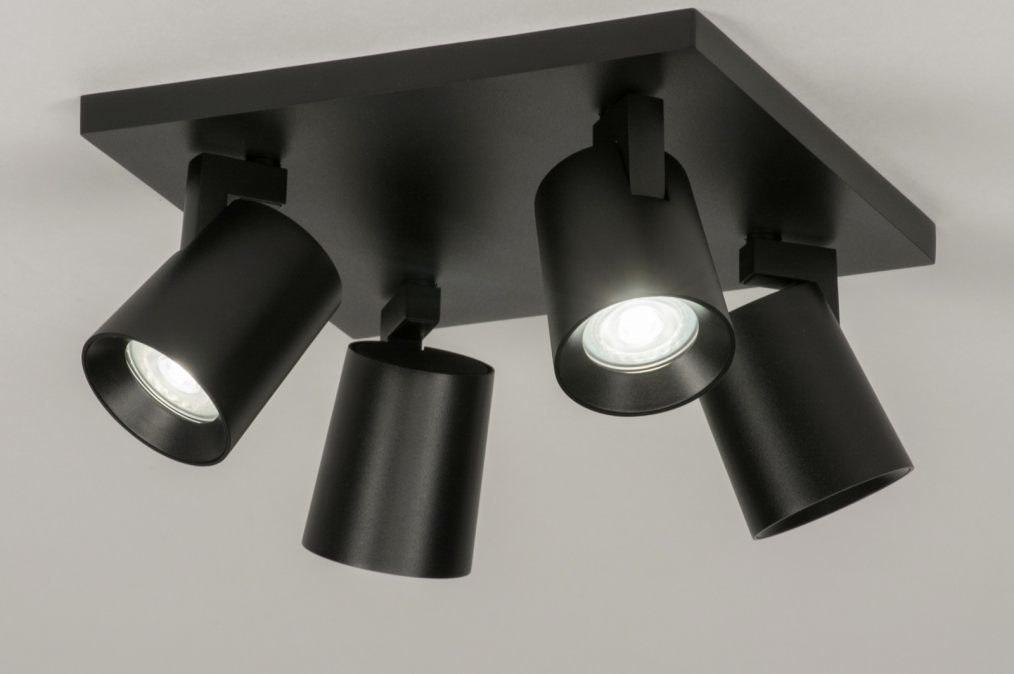 Plafondlamp 72576: design, modern, aluminium, metaal #0
