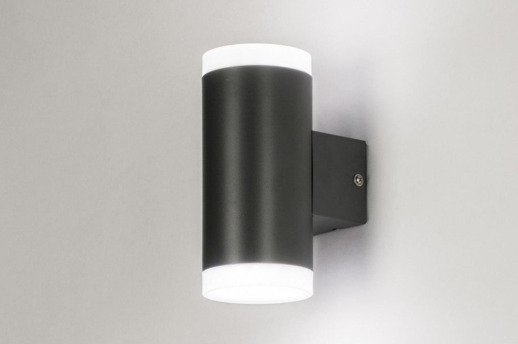 Wandleuchte 72594: Sale, modern, Metall, schwarz #0