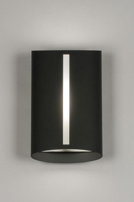 applique murale 72640 moderne anthracite aluminium acier. Black Bedroom Furniture Sets. Home Design Ideas