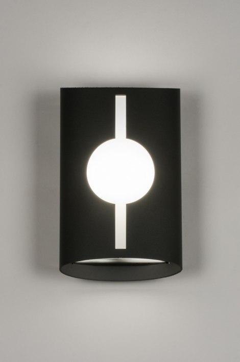 applique murale 72642 moderne anthracite aluminium acier. Black Bedroom Furniture Sets. Home Design Ideas