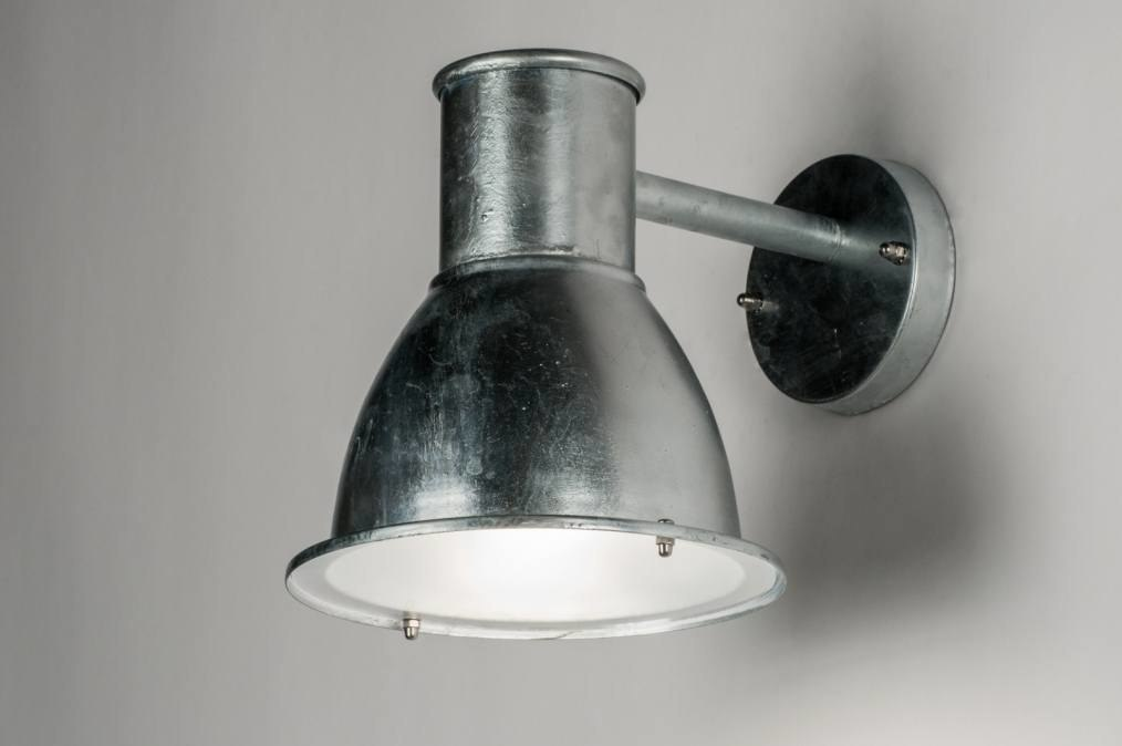 Wandlamp 72658: industrie, look, landelijk, rustiek #0