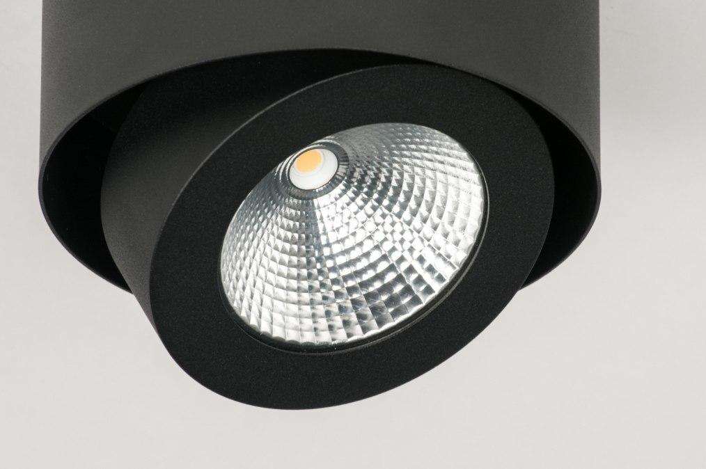 deckenleuchte 72686 modern design industrielook schwarz. Black Bedroom Furniture Sets. Home Design Ideas