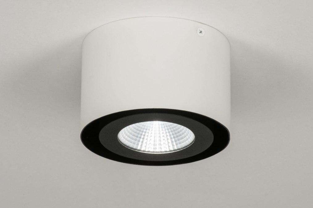 Plafondlamp 72687: design, modern, aluminium, metaal #0