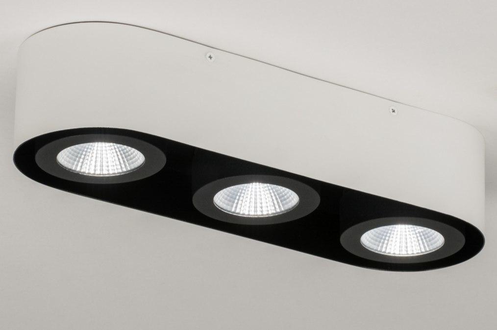 Plafondlamp 72693: design, modern, aluminium, metaal #0