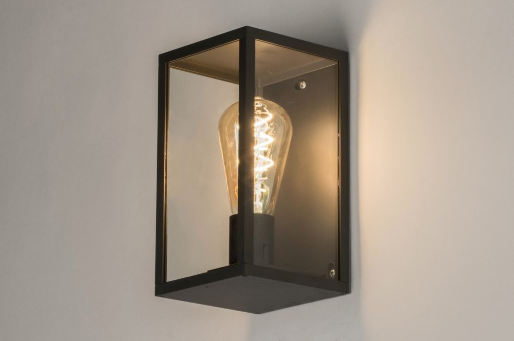 Wall lamp 72710: modern, contemporary classical, rustic, black #0